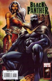 Black Panther #36 (2008) Alan Davis cover Marvel comic book